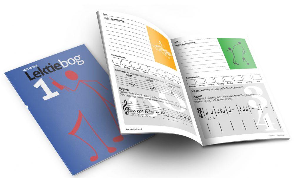 Min Musik Lektiebog 1 fra Music Work Out - Musikteori, spil, musikbøger og hørelære