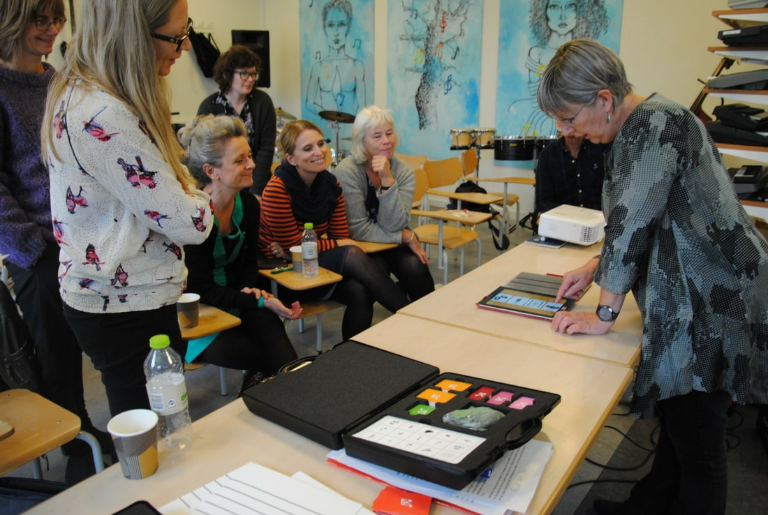 Kursus Music Work Out ved Anette Præst Nielsen