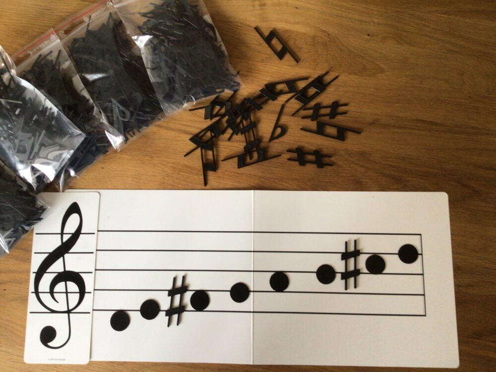 Fortegn fra Music Work Out - Musikteori, spil, musikbøger og hørelære