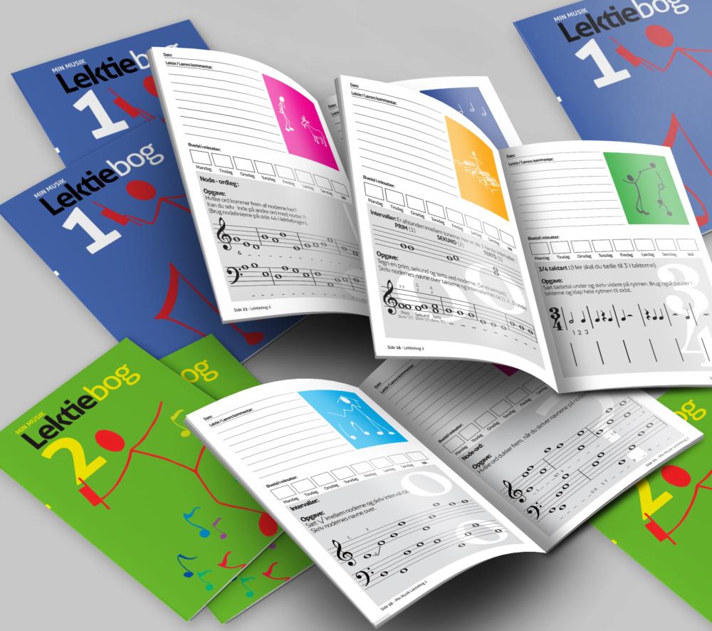 Min Musik Lektiebog 2 fra Music Work Out - Musikteori, spil, musikbøger og hørelære